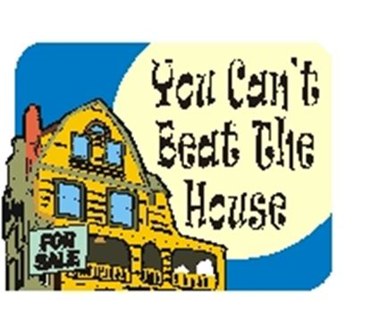 Picture of You Can't Beat The House cover art.