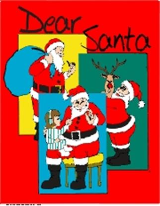 Picture of Dear Santa cover art.