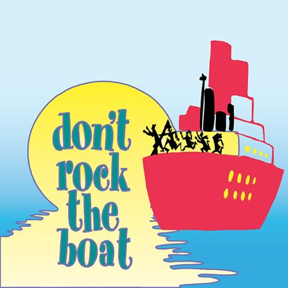 Picture of Don't Rock The Boat cover art.