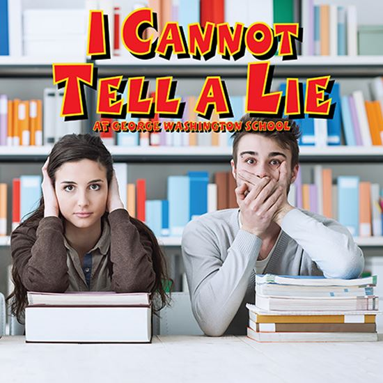 Picture of I Cannot Tell A Lie ... cover art.