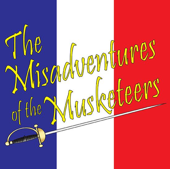 Picture of Misadventures Of The Musketeer cover art.