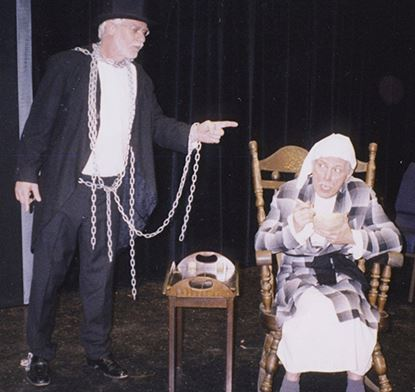 Picture of Scrooge Has Left The Building perfomed by Aiken Community Playhouse.