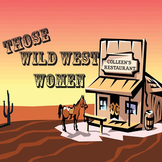 Picture of Those Wild West Women cover art.