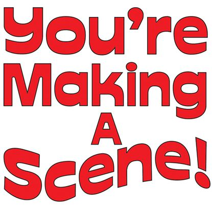 Picture of You're Making A Scene! cover art.
