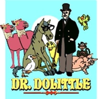 Picture of Dr. Dolittle cover art.