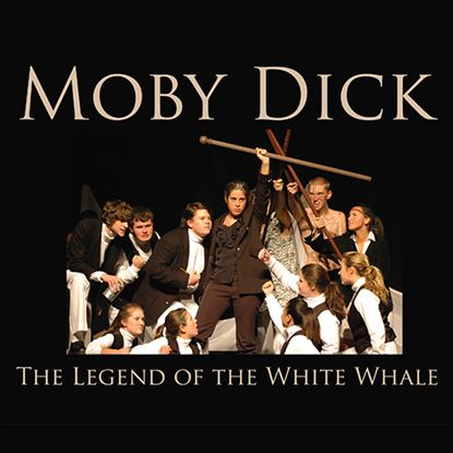 Picture of Moby Dick cover art.
