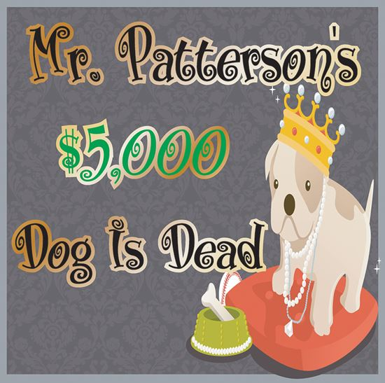 Picture of Mr Patterson's $5000 Dog cover art.