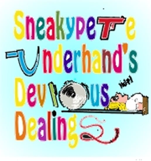 Picture of Sneakypete Underhand's... cover art.