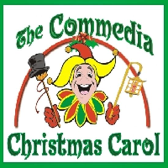 Picture of Commedia Christmas Carol,The cover art.