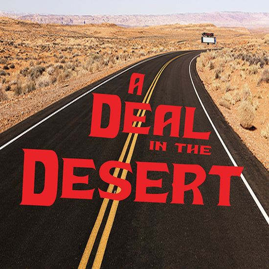 Picture of Deal In The Desert, A cover art.
