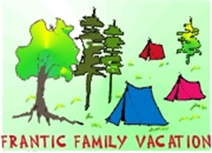 Picture of Frantic Family Vacation cover art.