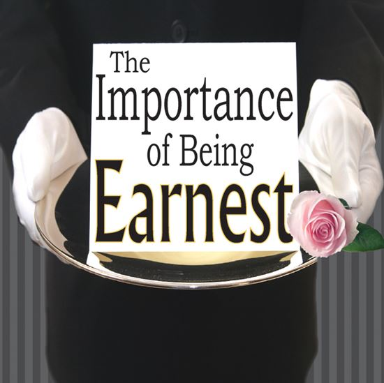 Picture of Importance Of Being Earnest cover art.