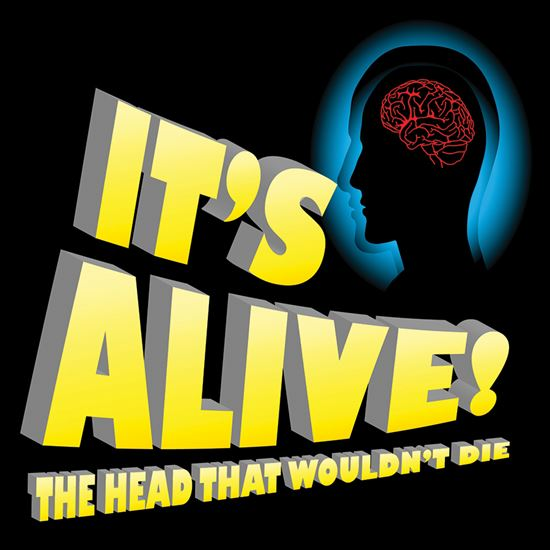 Picture of It's Alive! The Head That... cover art.