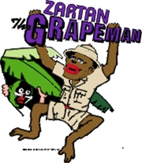 Picture of Zartan, The Grapeman cover art.