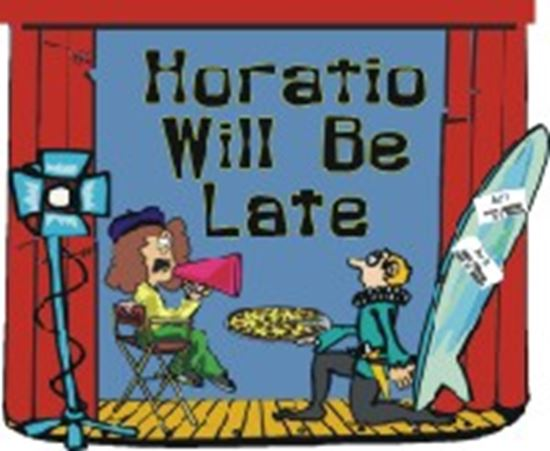 Picture of Horatio Will Be Late cover art.
