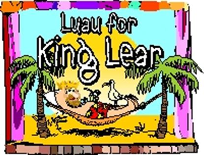 Picture of Luau For King Lear cover art.