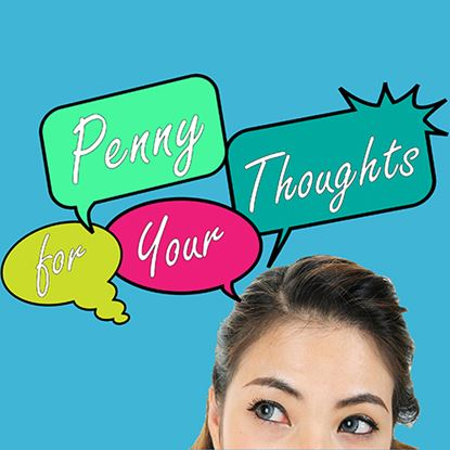 Picture of Penny For Your Thoughts cover art.