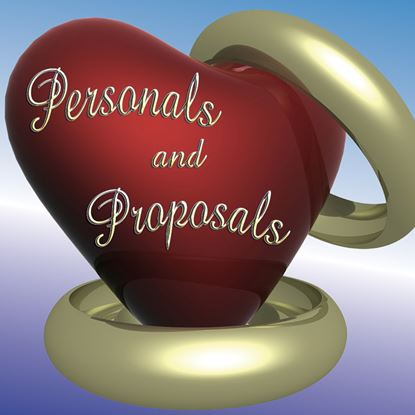 Picture of Personals And Proposals cover art.