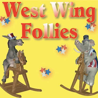 Picture of West Wing Follies cover art.