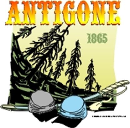 Picture of Antigone, 1865 cover art.