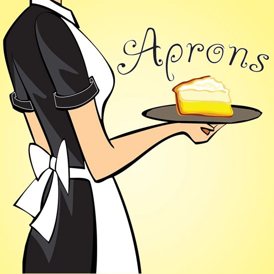 Picture of Aprons cover art.