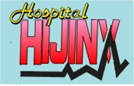 Picture of Hospital Hijinks cover art.