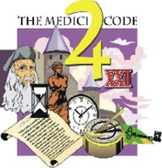 Picture of Medici Code, The cover art.