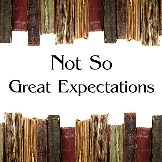 Picture of Not So Great Expectations cover art.