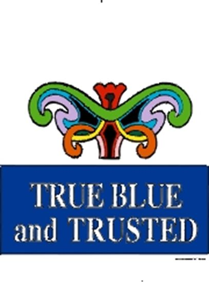 Picture of True Blue And Trusted cover art.