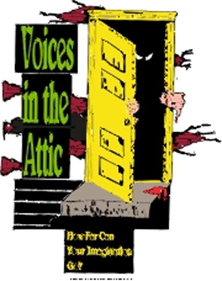 Picture of Voices In The Attic cover art.