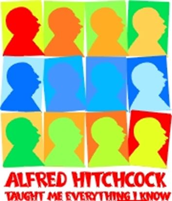 Picture of Alfred Hitchcock Taught.... cover art.