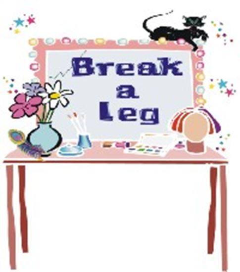 Picture of Break A Leg cover art.