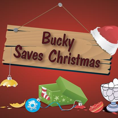 Picture of Bucky Saves Christmas cover art.