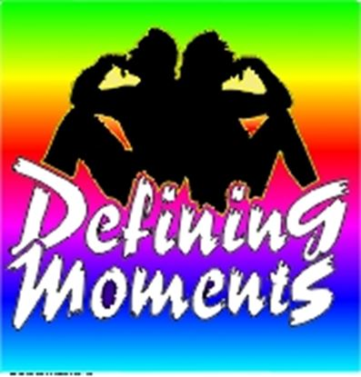 Picture of Defining Moments cover art.