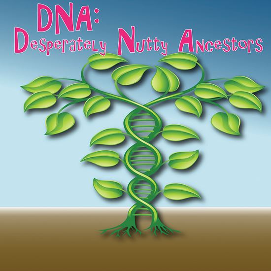 Picture of Desperately Nutty Ancestors cover art.