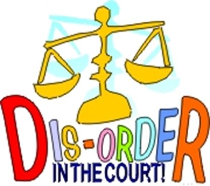 Picture of Dis-Order In The Court! cover art.