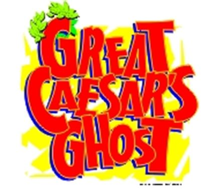 Picture of Great Caesar's Ghost! cover art.