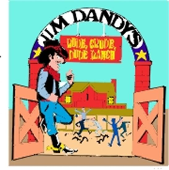 Picture of Jim Dandy's Rude...Dude Ranch cover art.