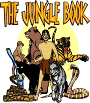 Picture of Jungle Book cover art.