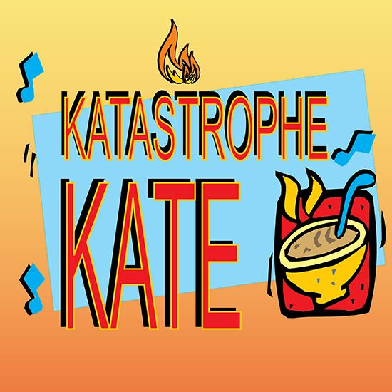Picture of Katastrophe Kate cover art.