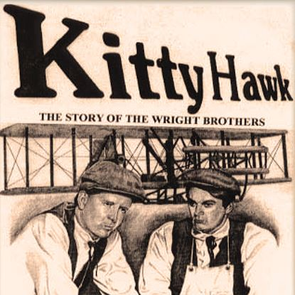 Picture of Kitty Hawk: Wright Brothers cover art.