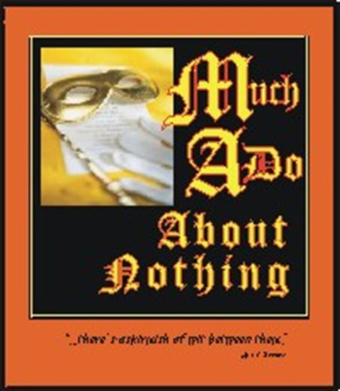 Picture of Much Ado About Nothing cover art.