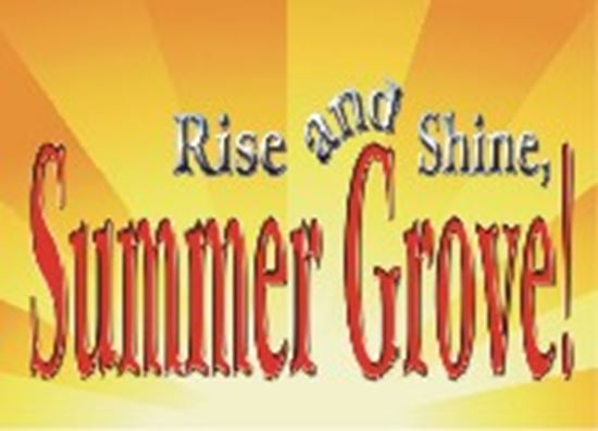 Picture of Rise And Shine, Summer Grove! cover art.