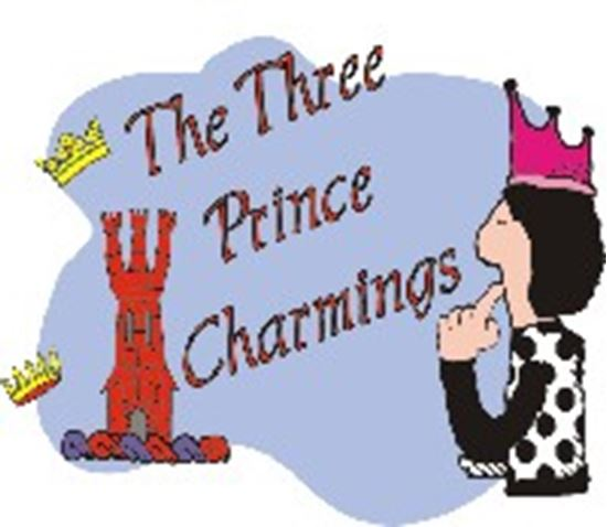 Picture of Three Prince Charmings cover art.
