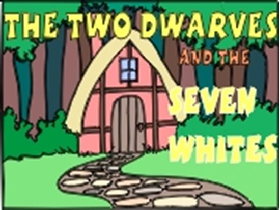 Picture of Two Dwarves & Seven Whites cover art.