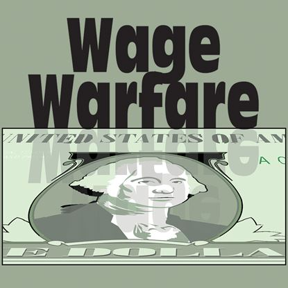 Picture of Wage Warfare cover art.