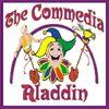 Picture of Commedia Aladdin cover art.