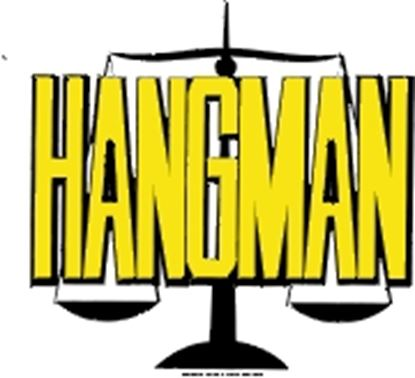 Picture of Hangman cover art.