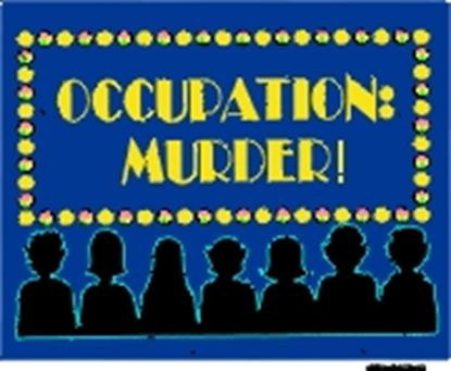 Picture of Occupation: Murder! cover art.