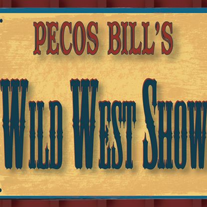 Picture of Pecos Bill's Wild West Show cover art.